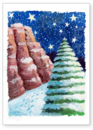 Buy funny and whimsical holiday greeting cards sedona holiday greeting card m4hsunfo
